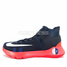 Nike KD Trey 5 IV EP [844573-416] Basketball Kevin Durant Obsidian/White-Red