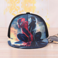 Marvel Superhero Superman Sun Hat Adjustable Snapback Baseball Hip Hop Flat Cap