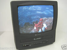 "Westinghouse 13"" TV VCR Combo Unit WVT-11319 Home Office Video CRT"