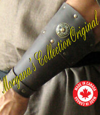 Medieval Armor Celtic Viking Barbarian Bracers Deluxe (rounded)