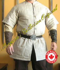Medieval Celtic Viking Armor Short Sleeves Padded Gambeson