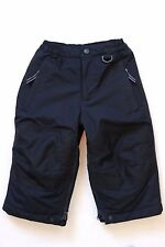 LANDS END Toddler Boys / Girls Navy Insulated Cold Weather Snow Ski Pants 2T