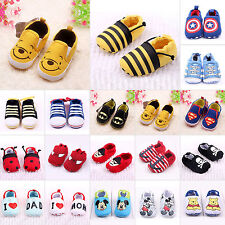 New Infant Toddler Baby Boy Girl Kids Soft Sole Shoes Sneaker Newborn 0-18Months