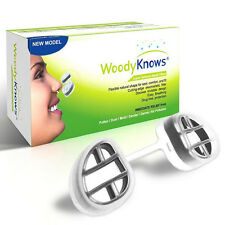 WoodyKnows Nasal Filters Air Pollution Nose Dust Mask Pollen Allergy Relief NEW