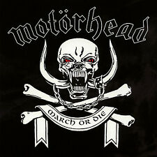 MOTORHEAD New Sealed Ltd Ed 2016 MARCH OR DIE WHITE COLORED VINYL RECORD