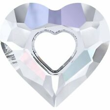 SWAROVSKI CRYSTAL MISS U HEART PENDANT *17-34mm *6262 *ALL COLOURS *GENUINE