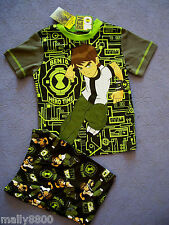 Boys - Ben 10 -  Pyjamas Pjs - Sleep Wear -  Size 3