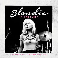BLONDIE New Sealed 2016 PREVIOUSLY UNRELEASED LIVE 1977 CONCERT CD