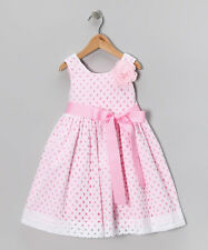 NWT Plum Pudding white Eyelet Dress baby girl 4, 5, 6, 6X, 7, 8, 10 $72 Made USA