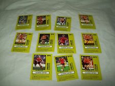 TEAM TACTIX PLAYERS CARDS DUNDEE UNITED