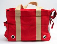New Fashionable Canvas Small Dog Cat Puppy Pet Carrier Travel Tote Purse Bag(US)