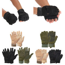 Outdoor Military Airsoft Hunting Paintball Cycling Half Finger Tactical Gloves