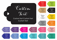 Personalized Paper  Tags Made Any Text Custom Tags Wedding Favor Gifts 100 Pcs