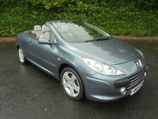06 06 Peugeot 307 CC 2.0HDi ( 136bhp ) COUPE SPORTS CONVERTABLE 5 SPEED