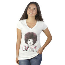 Barbie Barbie Afro Love To Be Me White T-shirt NEW Sizes S-L