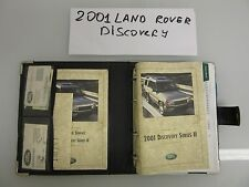 2001 Land Rover Discovery Owners Manual