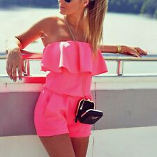 Sexy Women Summer Clubwear Playsuit Beach Party Jumpsuit Romper Trousers Shorts