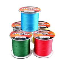 300M Super Strong PE 4 Braided Sea Saltwater Fishing Line Wire Strands Spools