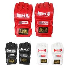 PU MMA UFC Grappling Thai Gloves Fight Boxing Sparring Punch Bag Training Gloves