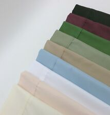 FULL SIZE SHEET SETS WRINKLE RESISTANT SOLID SUPER SOFT MICROFIBER 95 GSM 2866