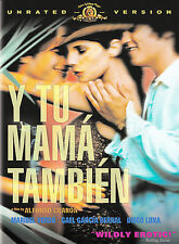 Y Tu Mama Tambien (DVD, 2002, Unrated) Like New