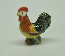 Dollhouse Miniature Artisan Signed Valerie Casson Rooster  Pitcher