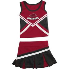 Infant Arkansas Razorback Cheerleader Set Shout Cheer Dress