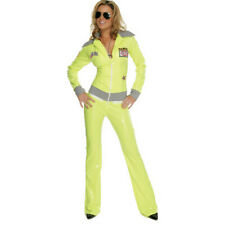 Adult Sexy Vinyl Racer Outfit Costume