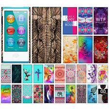 For Apple iPod Nano 7 (7th Gen) Stylish Hard Back Case Cover Protector Accessory