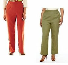 Alfred Dunner Womens Pants Pull-on birds of paradise size 8 10 14 16 16W 18W NEW
