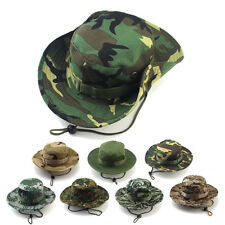 Boonie Bucket Hat US Army Outdoor Military Hunting Hiking Fishing Wide Brim Cap