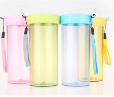 Bottle Color HOT 350ML New Water Cup Portable Juice Sport Travel Bottle