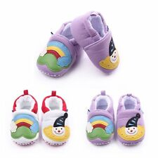Baby Infant Girls Cute Snowman Printed Shoes Anti Slip Soft Sole Shoes 0-1Y New