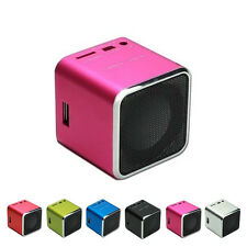 Portable USB Stereo Speaker Music Player FM Radio MP3/4 Micro SD High Quality