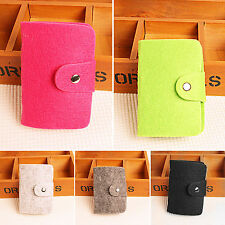 Retro Womens Girls Pouch ID Credit Card Wallet Cash Holder Organizer Case Pocket