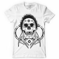 Horned Skull Tee Mens Big and Tall Graphic T Shirt Pro Club Short Sleeve
