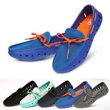 Mens Meshed Driving Shoes Boat Aqua Shoes Loafer Slip on Made in Korea 201 AU