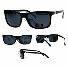 Locs Gangster Thin Plastic All Black Mens Cholo Sunglasses