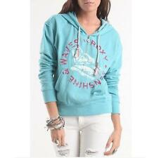 WOMEN'S/JRS GIRLS ROXY LANE COAST HALF ZIP PULLOVER HOODIE NEW $52