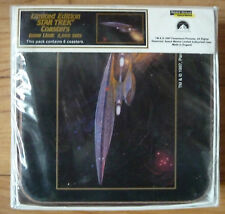 STAR TREK Next Generation UK 1997 Limited Edition Coaster Set -- SEALED