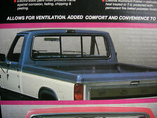 NOS 1982 - 1988 Ford Ranger Pickup Truck E-Z Slider Tinted Sliding Rear Window