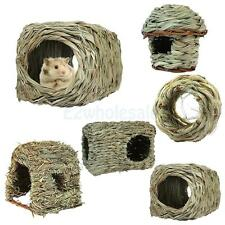 Chinchilla Ferret Guinea Pig Pet Animal Hideaway Grass Bed House Toy 5 Style