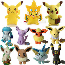 Pokemon Go Pikachu Collectible Plush Soft Toy Stuffed Doll Teddy Collectible Set