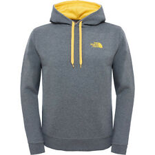 North Face Seasonal Drew Peak Mens Hoody - Medium Grey Heather All Sizes