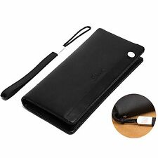 Dante Luxury Mens Bifold Genuine Leather Long ID Credit Card Clutch Wallet Purse