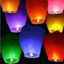 10pcs  Chinese Lantern Flying Wishing Lamp Sky Lanterns Hot Air Kongming Lantern