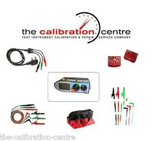 REPLACEMENT TEST LEADS & ACCESSORIES FOR MEGGER MFT1553 MULTIFUNCTION TESTER