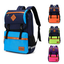 Waterproof Children Schoolbag Boys Girls School Backpack Travel Bookbag Rucksack