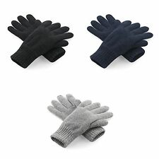 Beechfield Unisex Classic Thinsulate Thermal Winter Gloves