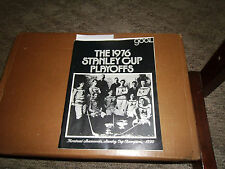 Goal Magazine NHL Hockey 04/76 1976 Stanley Cup Playoff Cover Feature Buffalo 62
